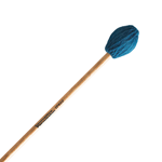 Hard Marimba Mallets - Teal Yarn - Birch