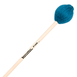 Soft Marimba Mallets - Teal Yarn - Natural Handles